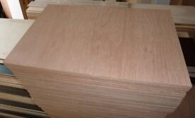 25 Pieces of NEW 18mm Premium Quality Marine Ply 29½in x 19in (750mm x 480mm)