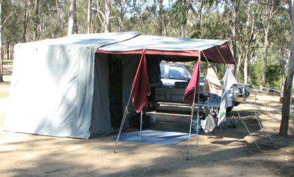 Koala Camper Trailer with the lot. Durack Brisbane South West Preview