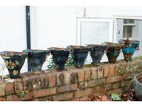 Rainwater Hoppers Victorian cast iron Made around 1870 7 in total
