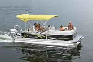 2019 QWEST LUXURY LS 820 LANAI CRUISE 21' PONTOON Moss Vale Bowral Area Preview