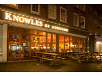 Part Time Chef De Partie required - £8-9 p/h West Norwood SE27 South London CDP Tulse Hill