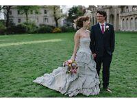 Ian Stuart Wedgwood Wedding Dress size 8/10