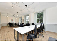 Newly refurbished media style office - up to 6 people - flexible terms