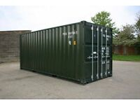 cheap 20ft dark green shipping containers for sale £900.00
