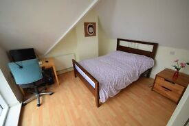Double room and bathroom (almost self contained) in three story house