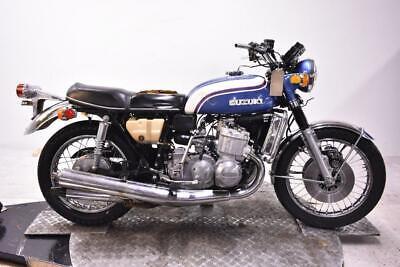 1973 Suzuki GT750K Unregistered US Import Barn Find Classic Restoration Proj