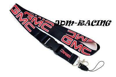 For GMC SIERRA YUKON BLACK Lanyard Neck Strap Quick Release Keychain Neck Strap