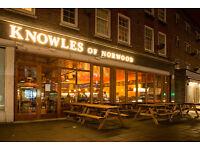 Fantastic pub in West Norwood SE27 seeks part time Kitchen Assistant ~ £7.20/hr ~ South London