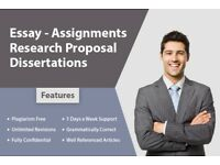 EXPERT HELP: DISSERTATION / ASSIGNMENT / PROPOSAL / ESSAY / SPSS/MATLAB/WRITING-PROOFREAD & EDITING