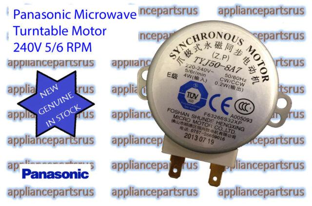 Panasonic Microwave Turntable Motor Part F63266s30xp New Genuine In Stock
