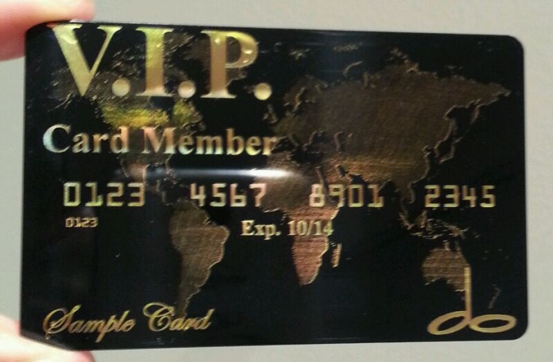 500 Premium Plastic Business Cards