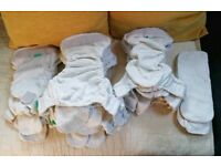 Tots bots and Little Lamb Reusable Nappies - Size 1
