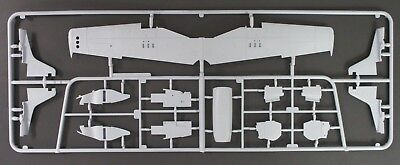 Airfix 1/48 Scale North American F-51D Mustang Parts Tree B from Kit No. A05136