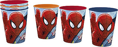 Marvel Spiderman Kinder Becher 3-teiliges Trinkbecher SET 260ml Saftbecher NEU