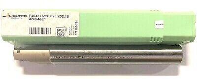 Walter Valenite 1 Indexable End Mill F4042.uz26.026.z02.15 Coolant Thru