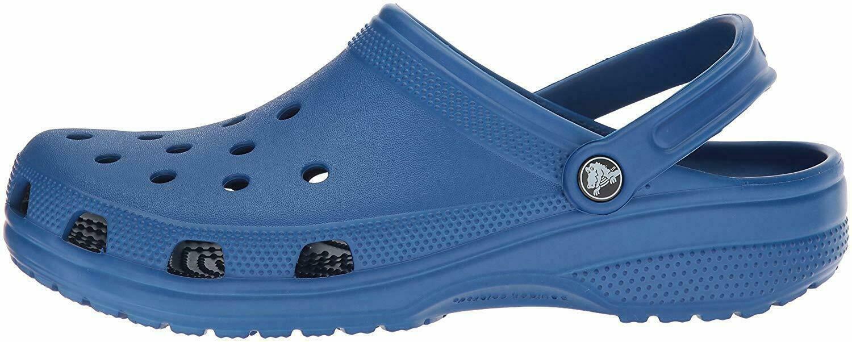 Crocs Womens Alligator Closed Toe Ankle  Blue Jean  Size 17
