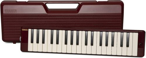 Yamaha Pianica, 37-note Melodica, Maroon (P37D)