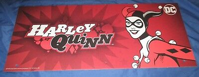 SPIRIT HALLOWEEN Store Exclusive Display Sign HARLEY QUINN DC Comics/Batman