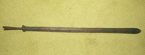 """ANTIQUE OLD AFRICA AFRICAN LARGE SWORD~33"""" OVERALL"""