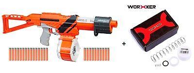 NEW Nerf N-Strike Elite AccuStrike AccuTrooper w/ Worker 5kg Spring Upgrade Kit