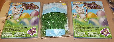Easter Kids Crafts Easter Egg Decorating Kits 2ea & Grass Dudley's Dazzle 113Y