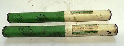 Cleveland Twist Drill Drill Bit Edp 09931 5564 Taper Shank Lot Of 2