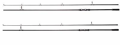 2 x  Shakespeare Cypry 2pc 10ft 3.00lb Carp Fishing Rods - 1381119
