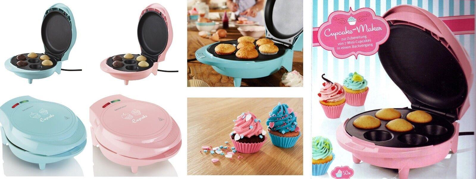Muffin / Cake / Cupcake-Maker SilverCrest SCCM 800 inkl. 50 Förmchen.  NEU & OVP
