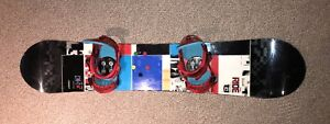 Mint Condition Used Snowboard + Boots