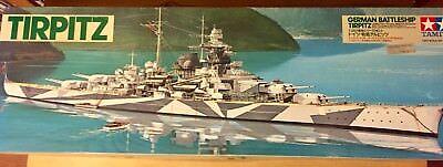 Tamiya 78015 - German Battleship Tirpitz (mit Motor) - Schlachtschiff - 1:350