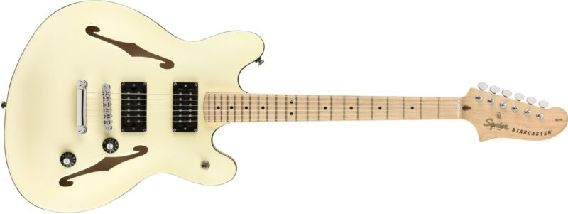 Squier Affinity Starcaster Olympic White