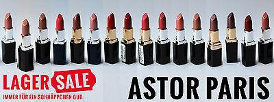 Astor Paris Color Last Lipstick Lippenstift - diverse Farbtöne - NEU