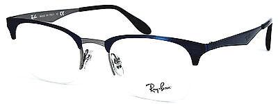 Ray-Ban Damen Herren Brillenfassung  RB6360 2863  49mm schwarz blau  // 485 (86)