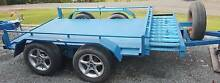 Flat bed trailer 8 x 5 2ton with ramps Pucawan Temora Area Preview