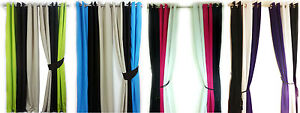 PAIR-OF-3-TONE-FULLY-LINED-EYELET-CURTAINS-IN-4-GORGEOUS-COLOURS