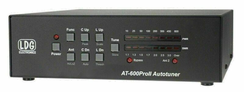 LDG AT-600ProII 600W Automatic Antenna Tuner. ham CB Radio Free Shipping