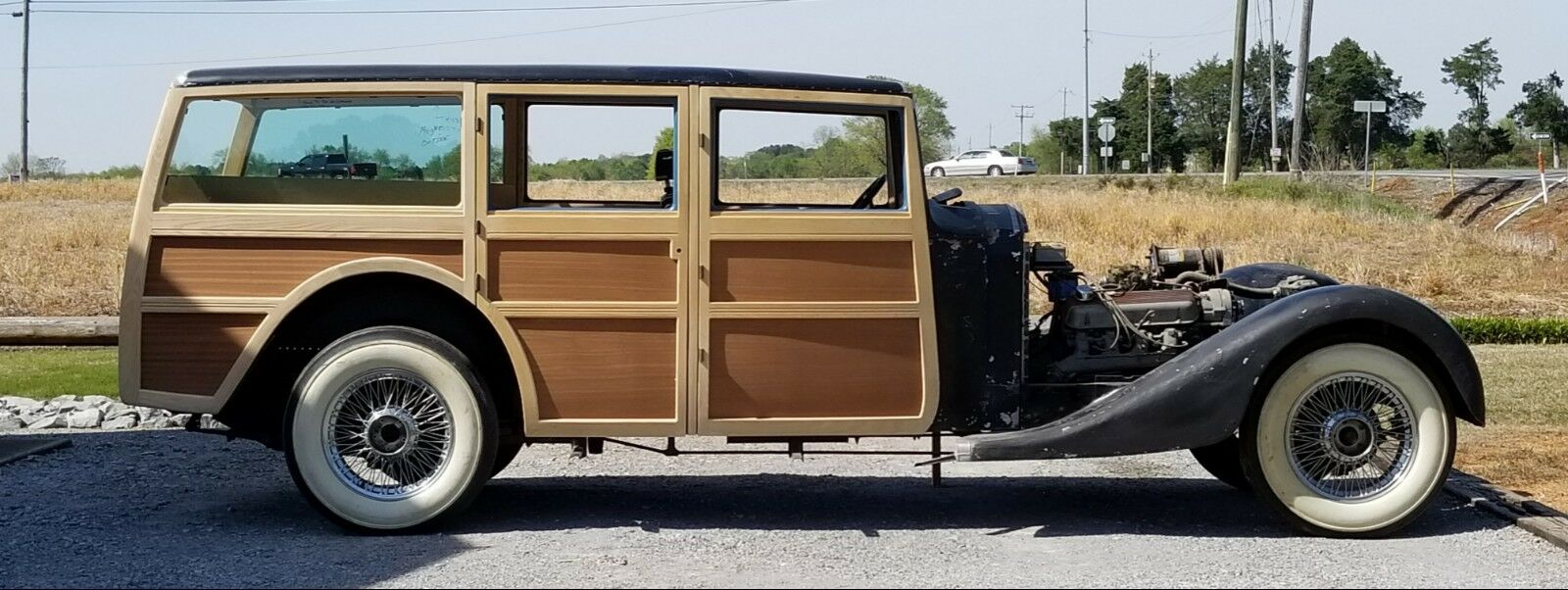 1935 Rolls-Royce Phantom II  1935 Rolls-Royce Phantom II Woodie Wagon Project - One Of A Kind!
