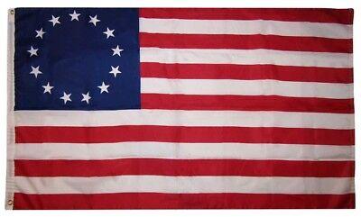 3x5 Betsy Ross Historical 150D Woven Poly Nylon Flag 5x3 Banner Heavy Duty