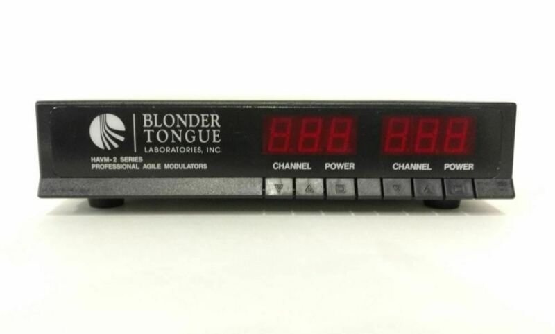 Blonder Tongue HAVM-2UA TV Headend System - Pro Agile Modulator - OPEN BOX CLEAR