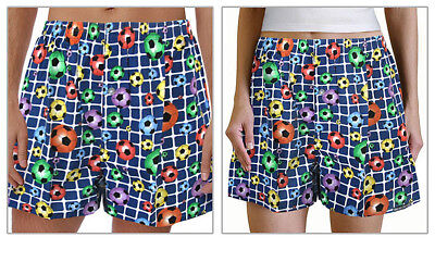 Her Boxer Shorts - COOL SOCCER Boxers BOXER SHORTS - SLEEP Pants or Pajamas for HIM or HER SIZE XL
