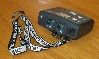 Kustom Signals Pro-lite Lidar Police Laser Binocular Style Radar Gun