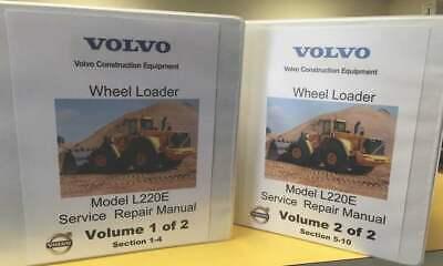 Volvo L220e Wheel Loader Workshop Manual