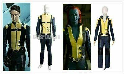 X-Men: First Class Mystique Cosplay Costume Outfit Movie - X Men Uniform
