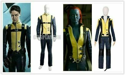 Mystique X Men Costume (X-Men: First Class Mystique Cosplay Costume Outfit Movie Uniform !Free)