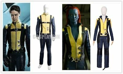 Mystique X Men Costume (X-Men: First Class Mystique Cosplay Costume Outfit Movie)
