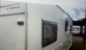 2002 Avondale Rialto 555-4 caravan
