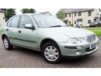 AUTOMATIC Rover 25 ecceptionally Clean- Mot late Sept