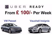 From £100 - PCO Car Hire/Rent Insignia / Passat / Toyota Prius *** UBER READY **