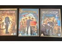 3 x Night at the Museum DVDS