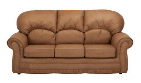 Santiago Leather Sofa 1, 2, 3 Seat Sofa **Home Delivery Available**